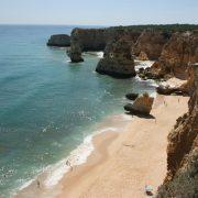 A spectacular beach at Marinha