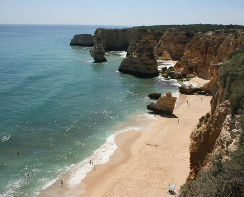 golden years A spectacular beach at Marinha