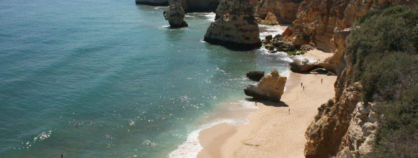 golden years A spectacular beach at Marinha