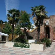 The immaculate main square in Silves