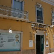 The traditional façade belies the modern clinic and pharmacy
